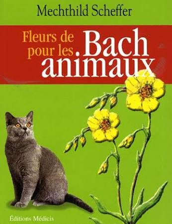 livre fleurs de Bach et animaux